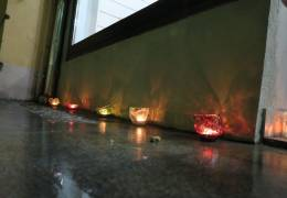 Ekološki stekleni svečniki